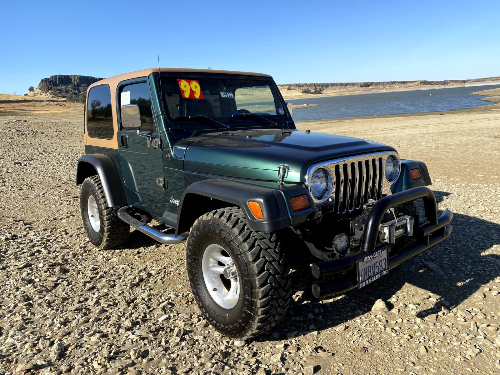 Check out this low mileage 1999 Jeep Wrangler, offered by WestMitsubishi.com
